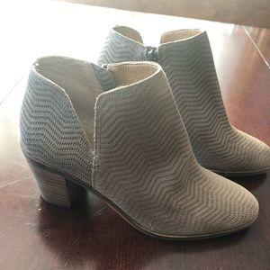 Lucky Brand Shoes - New Tan Suede Booties